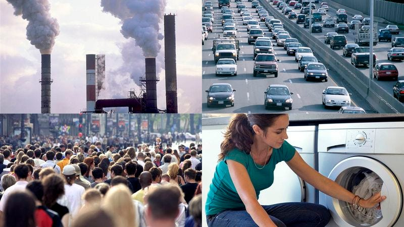Experts say the acceleration of global warming is directly tied to the actions of 7 billion main culprits.