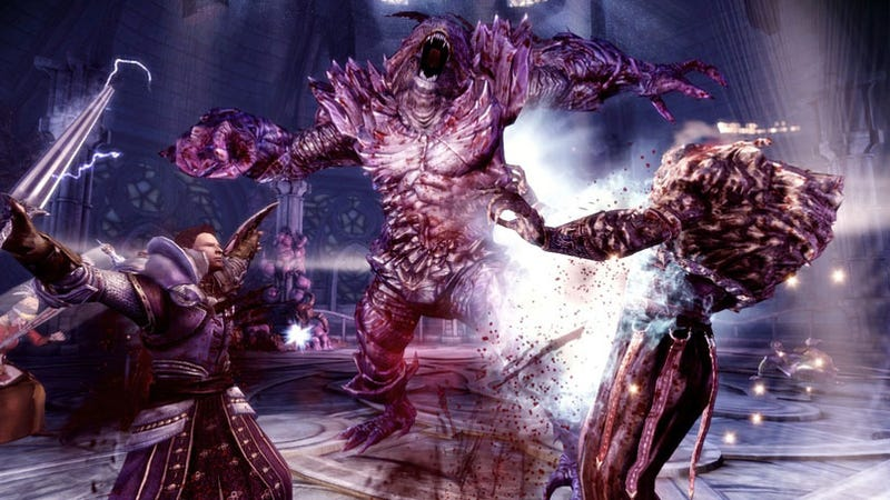 Illustration for article titled New Dragon Age: Origins Screens Are Marilyn Manson Free