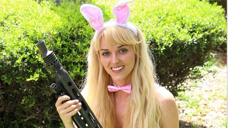 Illustration for article titled Newest Human Barbie Likes to Hunt, Is a Radical Right Wing Extremist