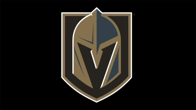 Illustration for article titled Do You See Gray Or Blue In The Vegas Golden Knights Logo?