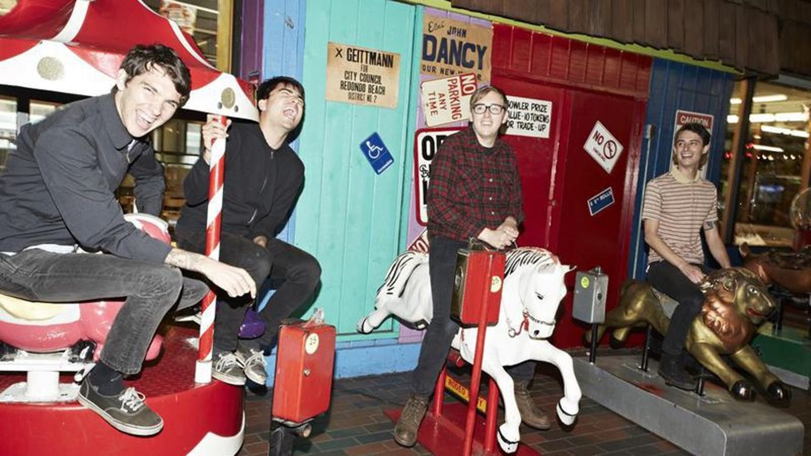 Joyce Manor\'s quest to eliminate hangovers proves fruitful
