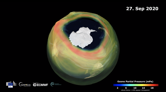 This Year s Hole in the Ozone Is Twice the Size of the U.S.