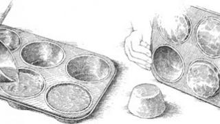 Illustration for article titled Use a Muffin Tin to Freeze Huge Cubes of Stock for a Flavor Boost in Your Next Meal