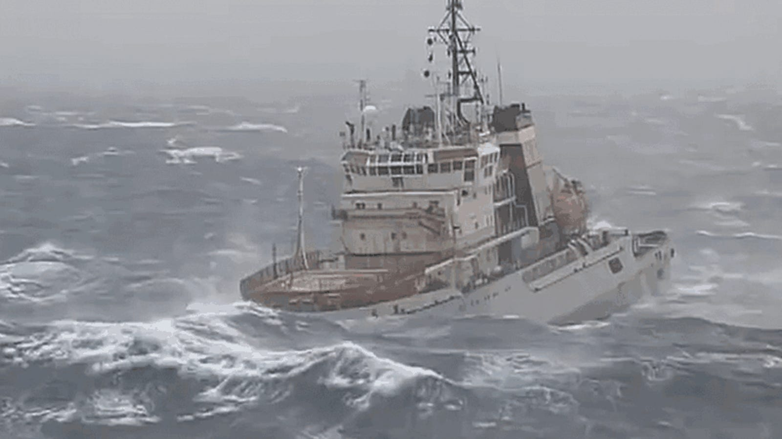 You May Puke Watching This Tug Boat Attempt To Tow Russia's