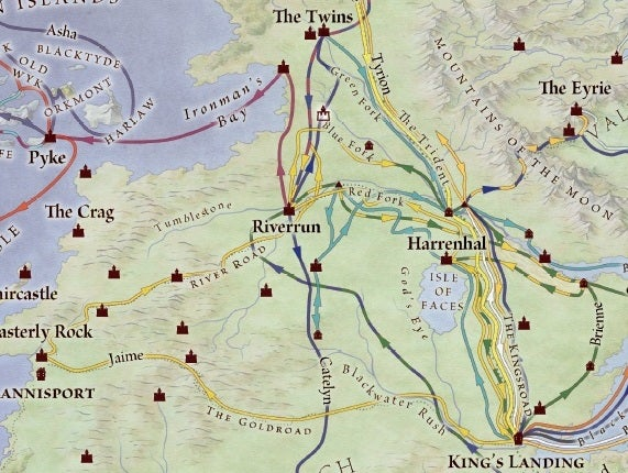 At Last, Official Maps of George R.R. Martin\'s World, From Westeros ...