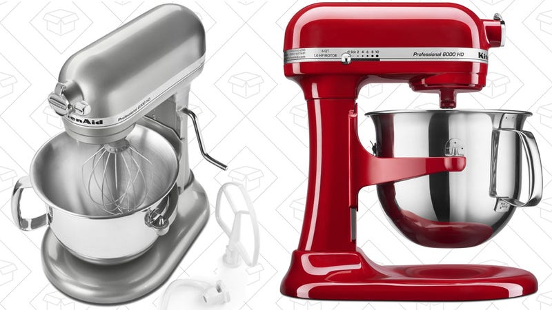 KitchenAid Professioanl 6 Quart Stand Mixer, $249