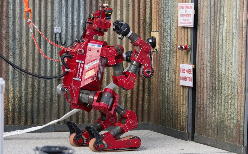Meet the eight astounding finalists of DARPA's Robotics Challenge