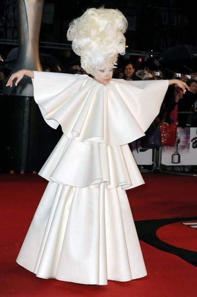 """Illustration for article titled Gaga """"Never"""" Walks Red Carpets; Naomi Celebrates 40th In France"""