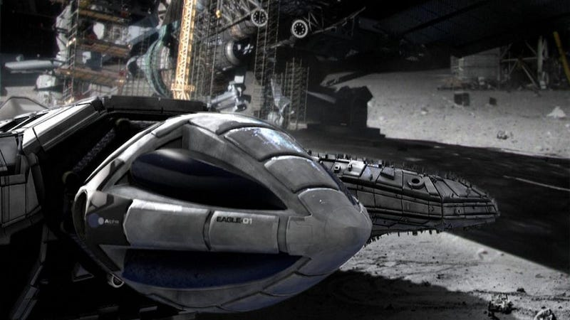 """Illustration for article titled Why Space: 2099 Won't Be a """"Dark and Gritty"""" Reboot of Space: 1999"""