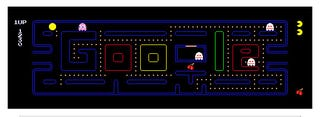 Illustration for article titled Google's Pac-Man Front Sapped 4.8 Million Hours of Productivity