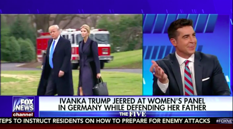 Fox News host on 'vacation' after lewd comment about Ivanka Trump