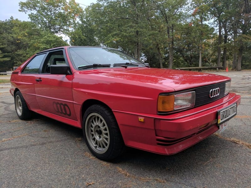 Have a UR Quattro not far from my home which is for sale on BaT for your time