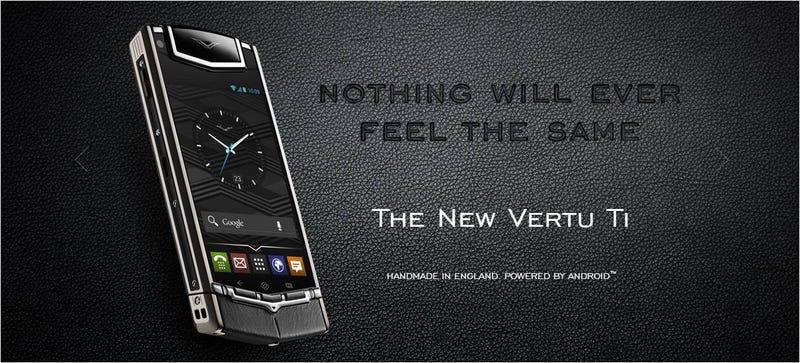 Illustration for article titled El móvil Android más caro del mundo (7.900 euros) ni siquiera tiene 4G