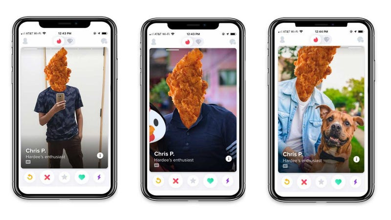 Illustration for article titled Hardee's new Tinder promotion is the saddest food deal in the world