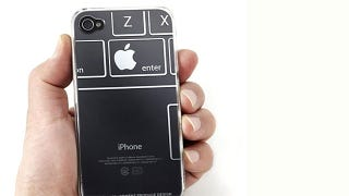 Illustration for article titled iTattoo Cases Make Excellent Use Of Your iPhone's Apple Logo