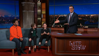 Keith L. Williams, Jacob Tremblay, Brady Noon, Stephen Colbert
