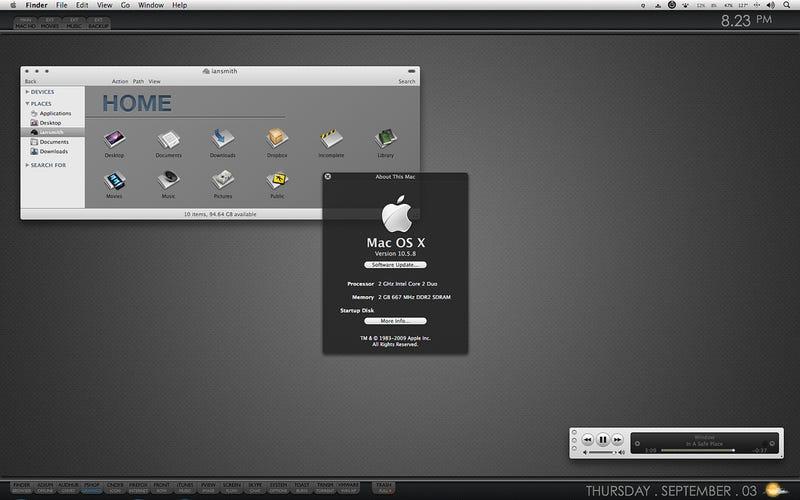 Illustration for article titled The Slate Mac Desktop