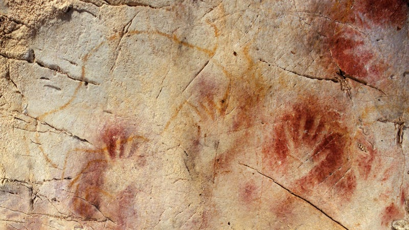 Illustration for article titled Europe's earliest cave art may be the work of Neandertals, not humans
