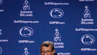 Illustration for article titled Penn State Football Press Conferences Are No Longer Brought To You By Sherwin-Williams