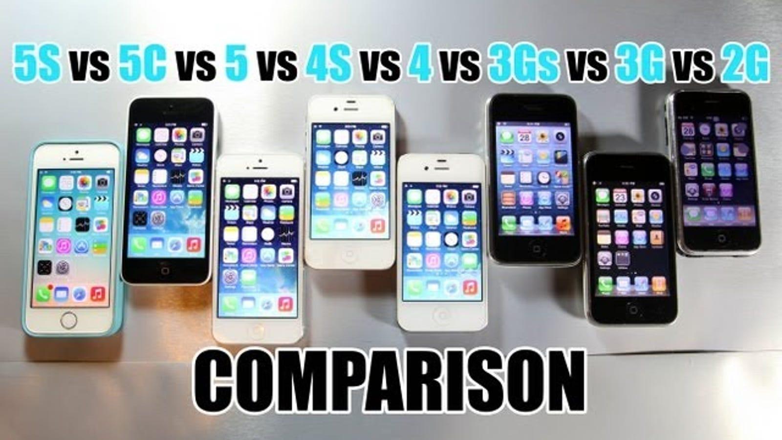 Compara la velocidad de todos los iPhone en un solo vídeo