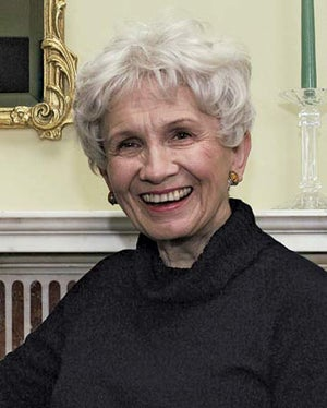 """Illustration for article titled """"Housewife Finds Time To Write Short Stories"""": An Evening With Alice Munro"""