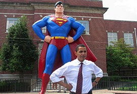 """Illustration for article titled Obama On All Your Base Are Belong To Us: """"Bwah?"""""""