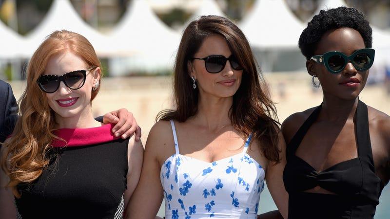 Jessica Chastain, Penelope Cruz, and Lupita Nyong'o