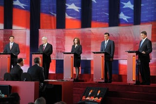GOP 2012 presidential hopefuls (Getty Images)