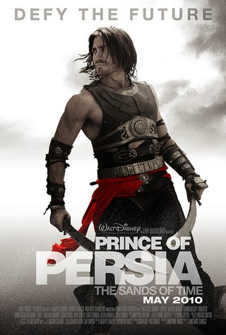 Illustration for article titled First Look At A Proper Prince Of Persia Movie Poster