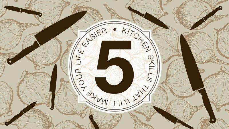 Illustration for article titled The Five Kitchen Skills That Will Make Your Life Easier