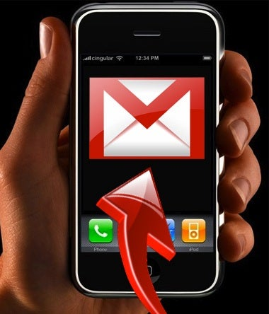 """Illustration for article titled Set Up """"Push"""" Gmail on Your iPhone"""