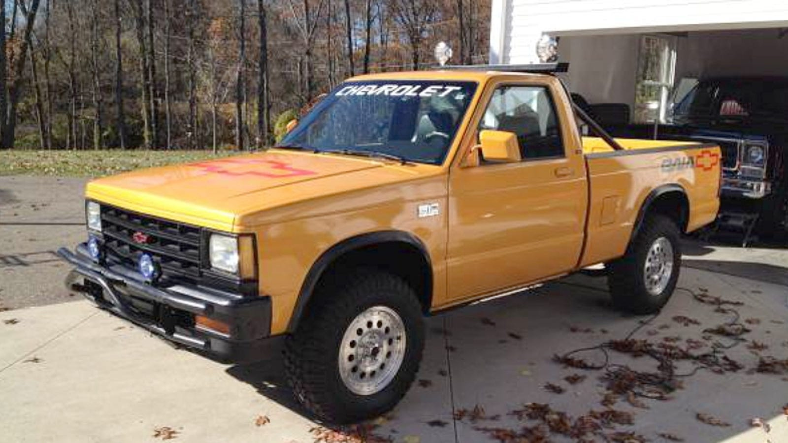 This 1989 Chevy S10 Baja Asks  6 950  What Do You Think