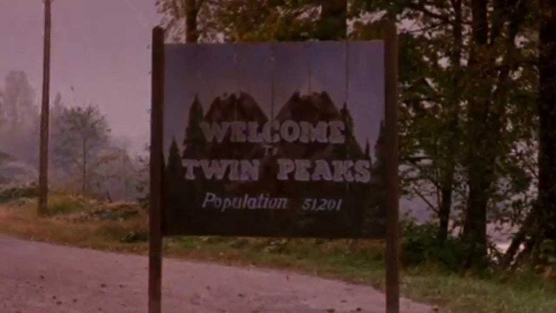 """Illustration for article titled David Lynch says he """"hasn't returned yet"""" for the new season of Twin Peaks"""