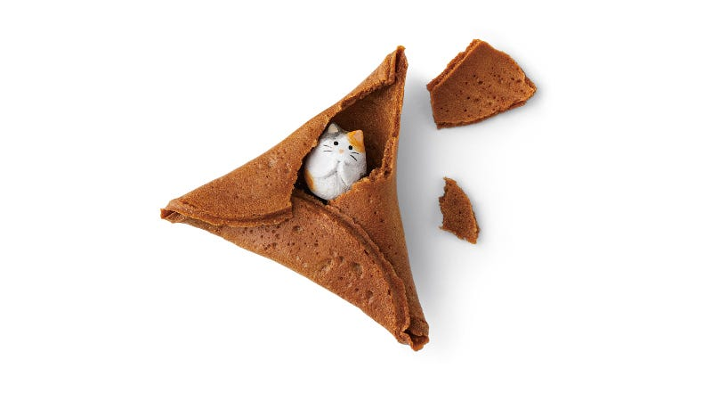 Illustration for article titled How To Improve Fortune Cookies: Add Cats