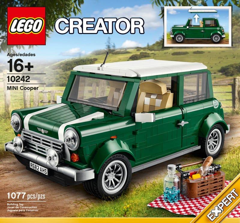 Illustration for article titled LEGO MINI Cooper Mk VII