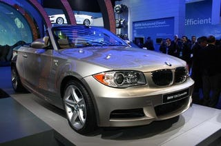 Illustration for article titled Detroit Auto Show: BMW 1-Series Convertible