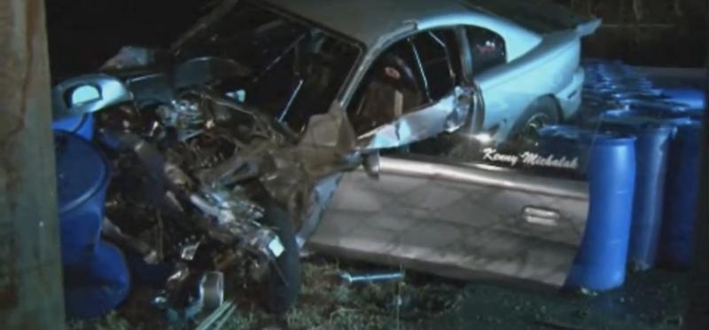 Illustration for article titled Mustang Racer Killed In Houston Drag Strip Crash