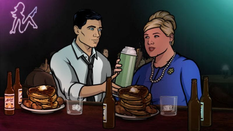 Illustration for article titled Archer gets a fifth season, Jon Hamm, and aSealab 2021 crossover