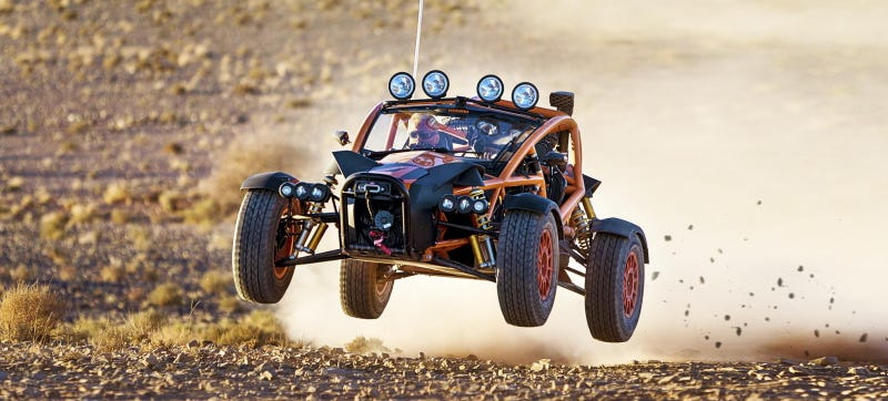 Matt LeBlanc tests the Ariel Nomad in Series 23. Photo credit: Top Gear