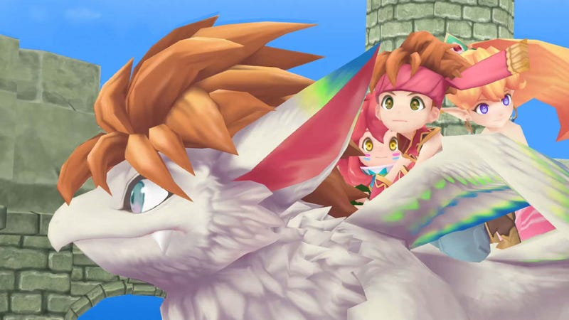 Illustration for article titled The Secret Of Mana Remake Makes A Great Game Worse