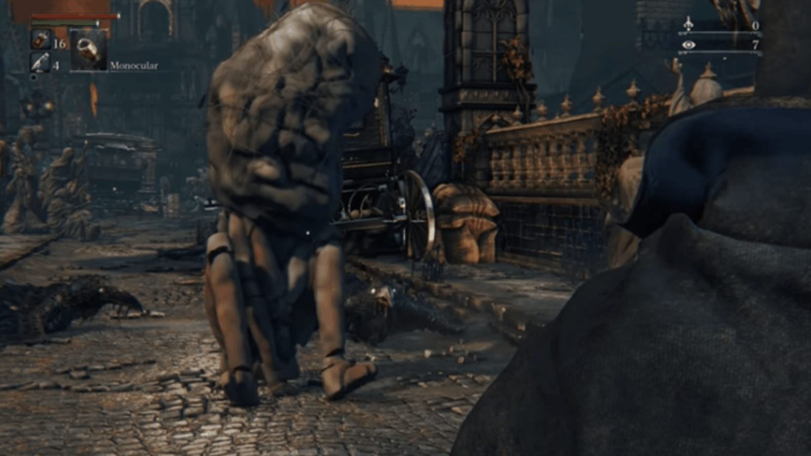 here are five deleted bloodborne characters working in game