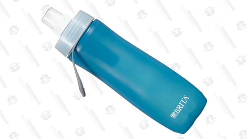 Brita 20 Ounce Sport Water Bottle with Filter | $6 | Amazon | After $2 off coupon