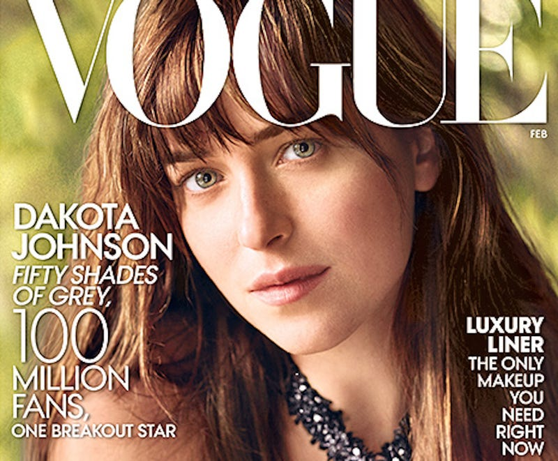 Illustration for article titled Vogue Is Trying So Very Hard To Make Dakota Johnson Happen
