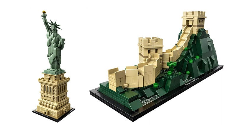 Illustration for article titled LEGO's Architecture Series Is Still So Good