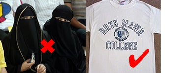 """Illustration for article titled Middle East Recruitment Gives New Meaning To """"College Girls"""""""