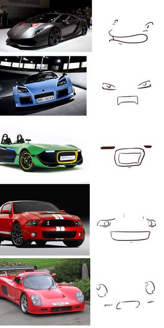 Car Faces - Sports cars reddit