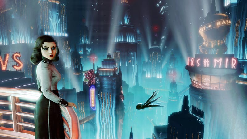 Illustration for article titled BioShock Infinite's DLC Will Let You Play as Elizabeth. In Rapture.