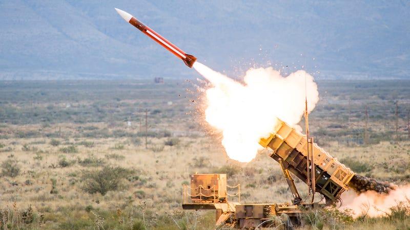 MIM-104 Patriot. Imagen: Raytheon