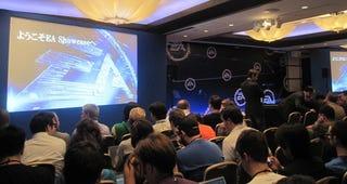 Illustration for article titled Kotaku Live @ EA's Tokyo Game Show Press Conference