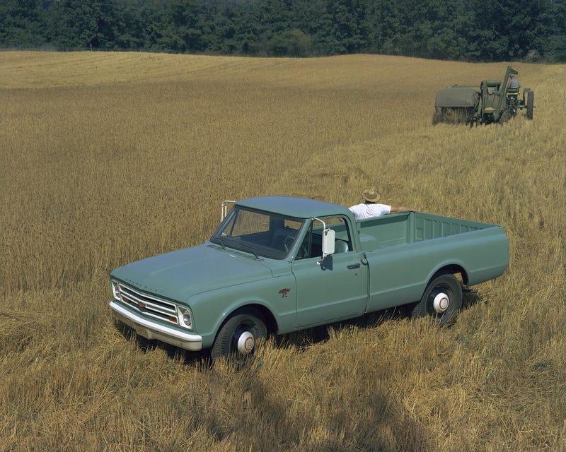 Illustration for article titled 1967 Chevrolet C20
